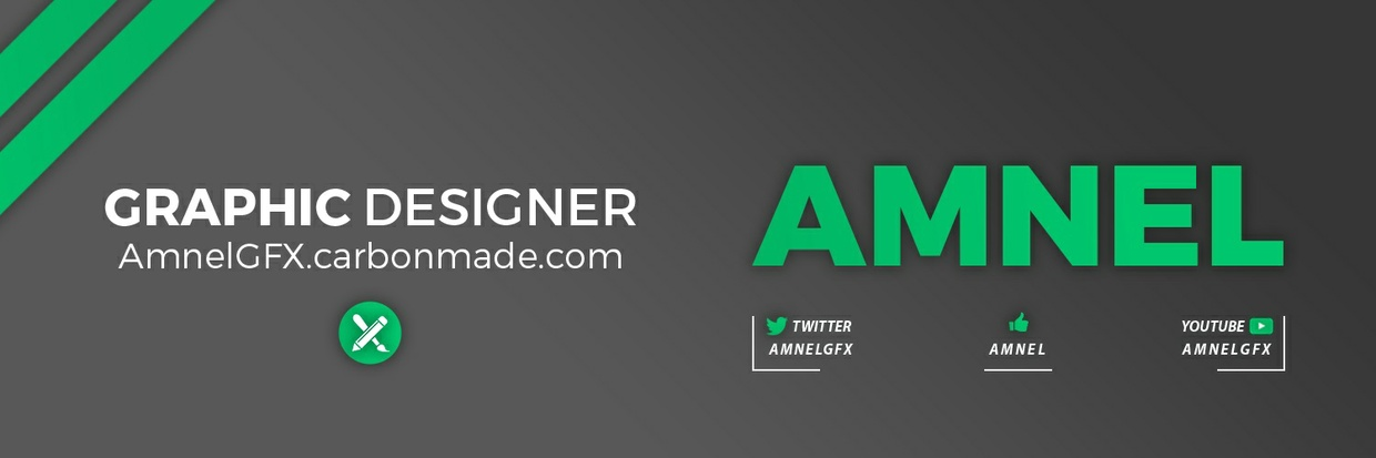 [Free template] 2D Clean & Pro Header (banner)