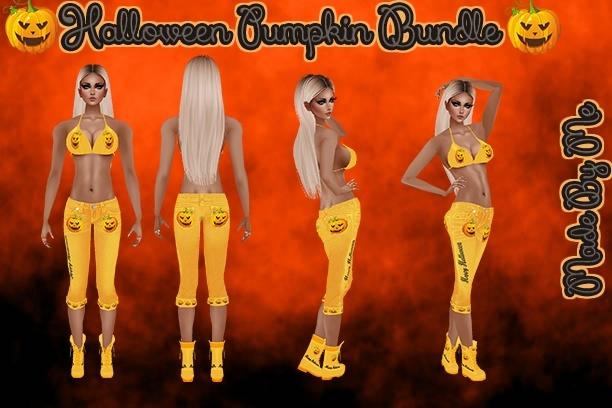 Halloween Pumpkin Bundle Catty Only!!!