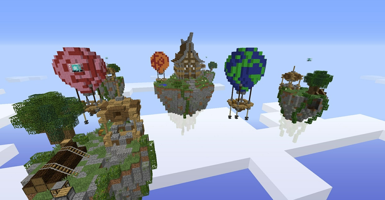 SkyWars map 4 players