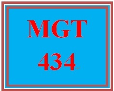 MGT 434 Week 2 Learning Team Charter
