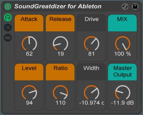 The SoundGreatdizer Ableton Live Rack