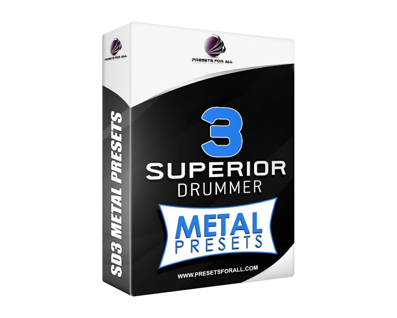 METAL PRESETS - Superior Drummer 3 Presets Pack