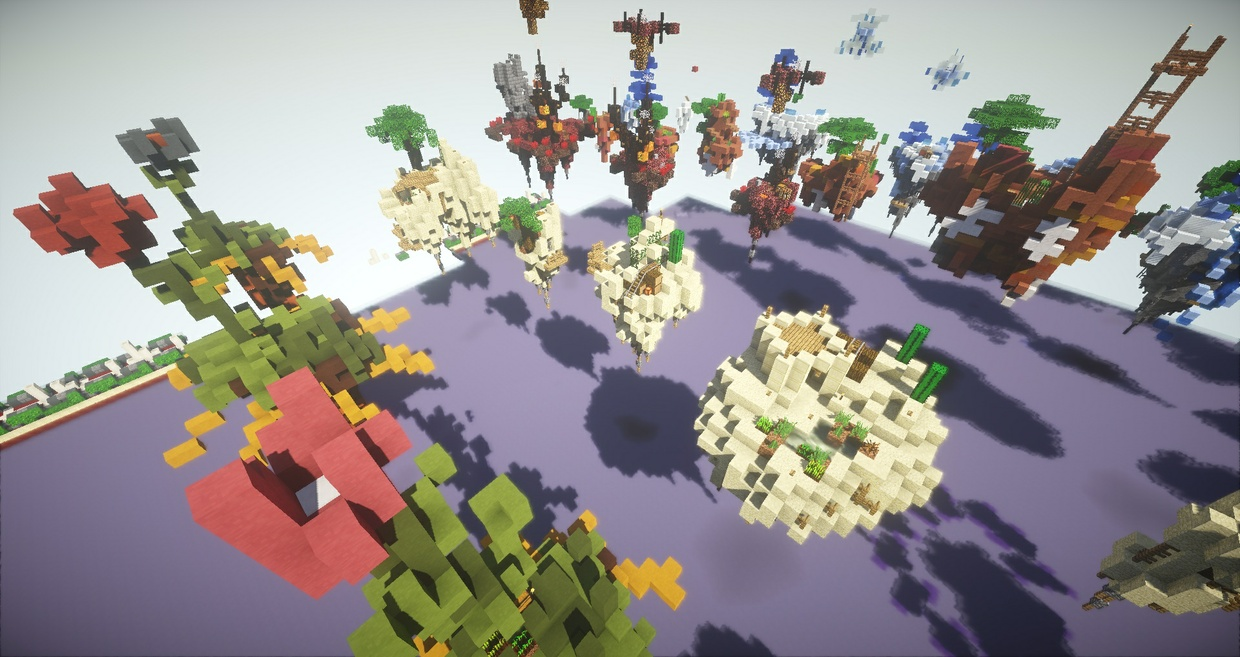 SkyBlock starter islands