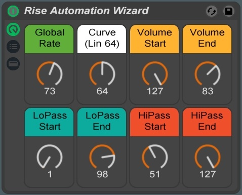 Rise Automation Wizard Ableton Live Rack