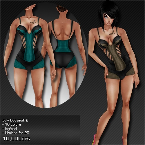 2013 Jul Bodysuit # 2