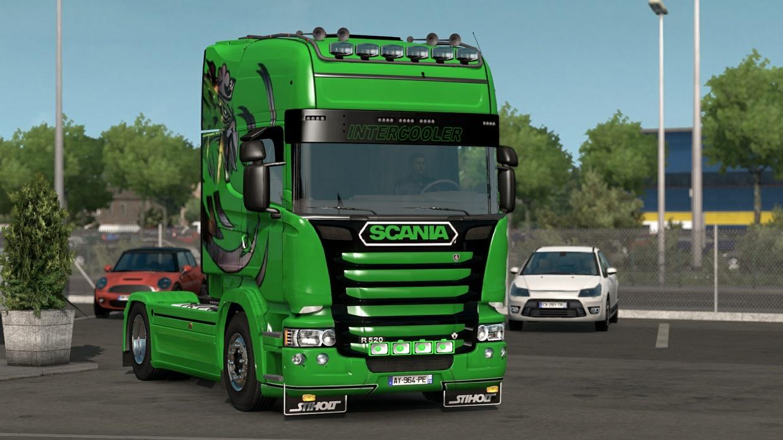 Scania Chauve Liner