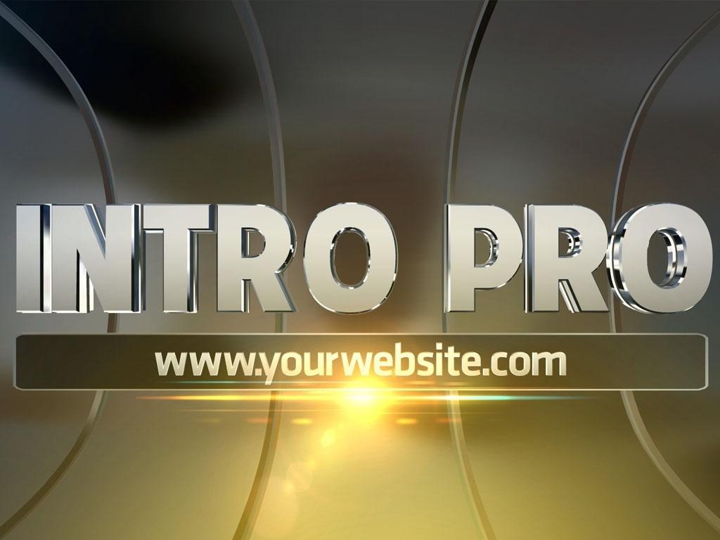 Blufftitler Template : Intro PRO - Style 01