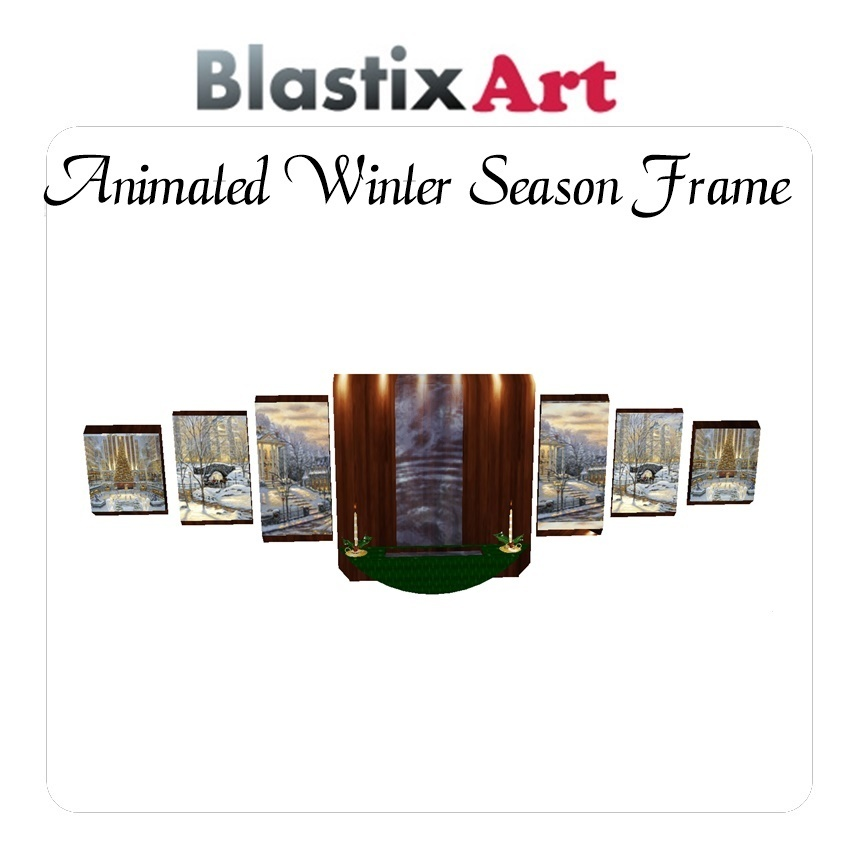 Animated  Winter  Season Frame