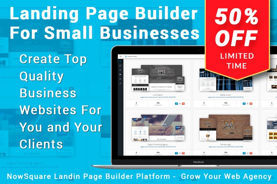 High Conversion Landing Pages Platform TEAM Edition - Your Business-in-a-Box