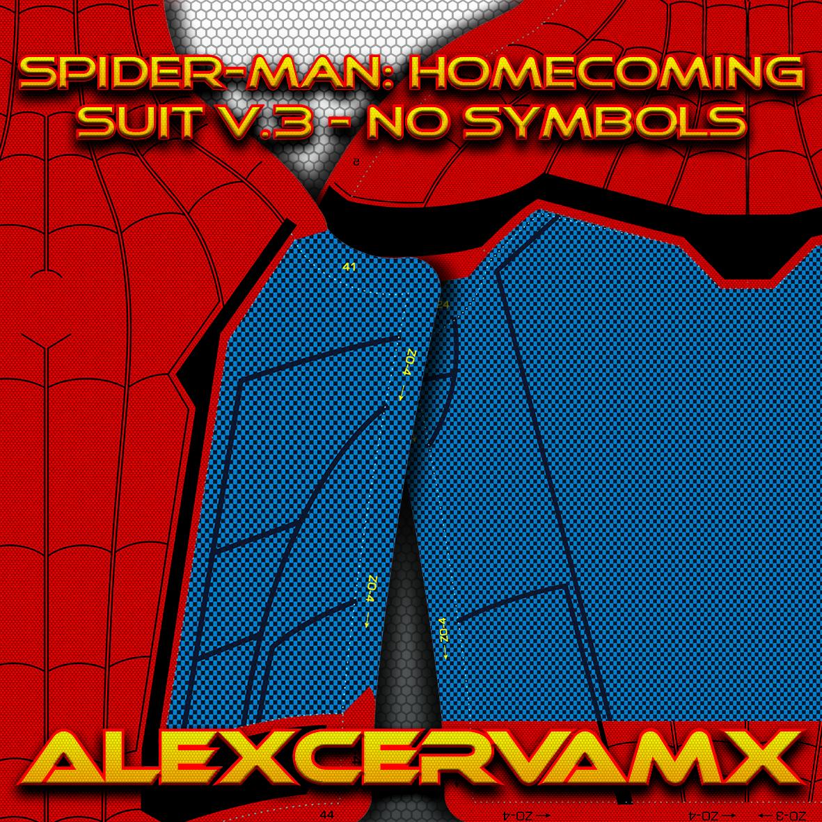AlexCerva's SM: Homecoming v3 Dye-Sub Pattern (No Symbols)