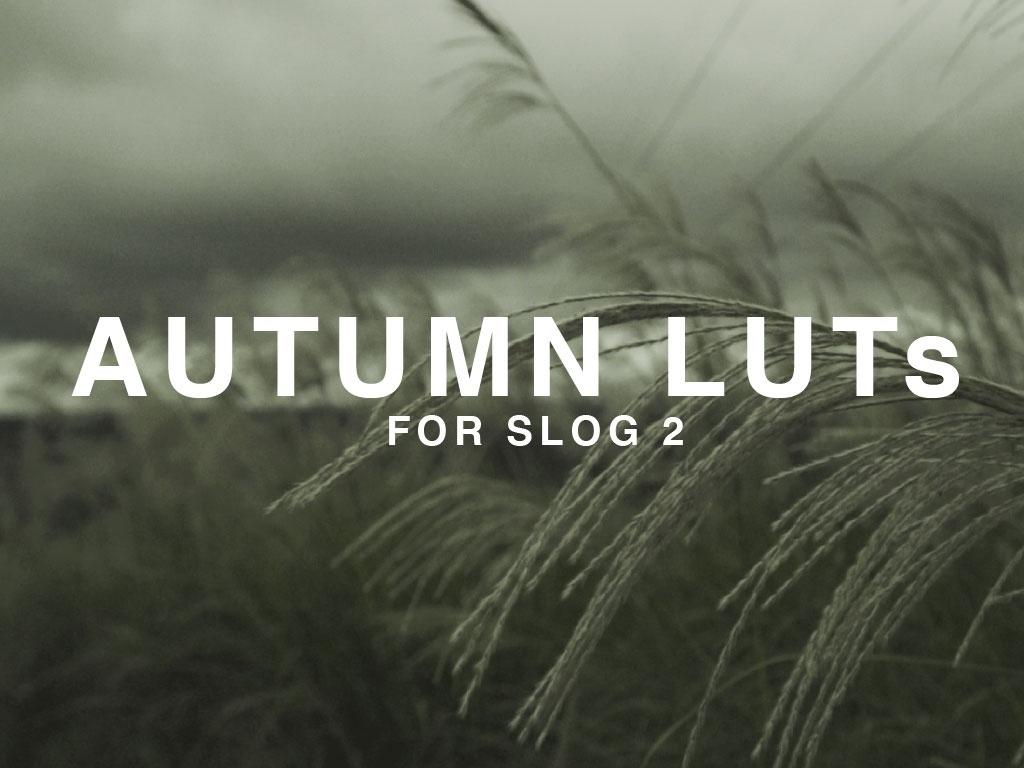 Autumn LUTs