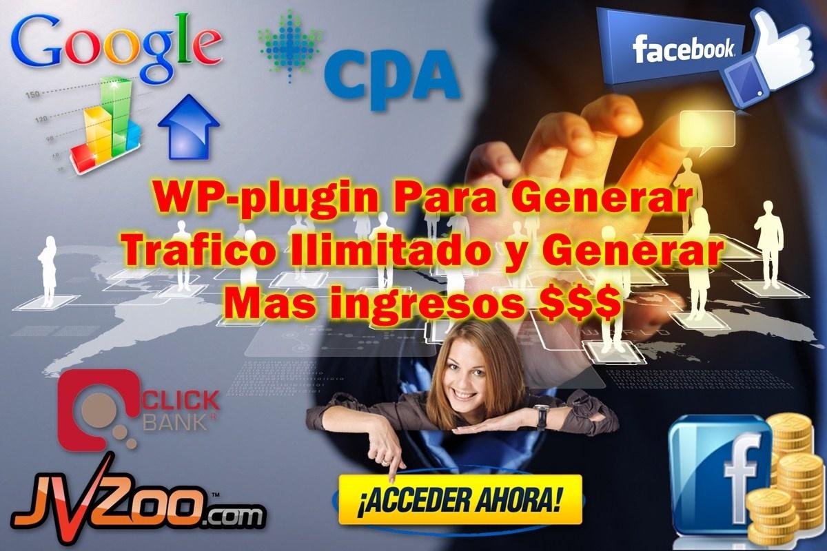 WP-Plugin Trafico Social de Facebook 100% GRATIS