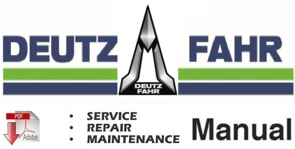 Deutz Fahr Agrocompact F60, 70F3, 70F4, F80, F90 Tractor Service Repair Workshop Manual