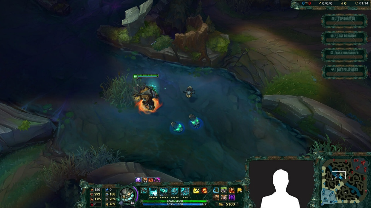 HAUNTED MAOKAI - STREAM OVERLAY