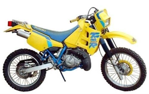 SUZUKI TS200R MOTORCYCLE SERVICE REPAIR MANUAL 1991-1993 DOWNLOAD
