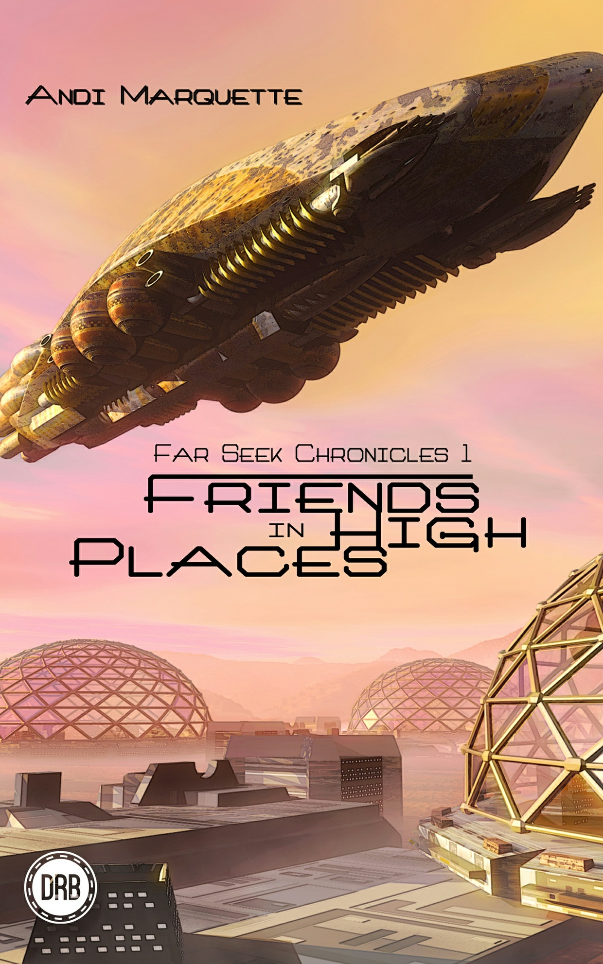 Friends in High Places by Andi Marquette - mobi (Kindle)