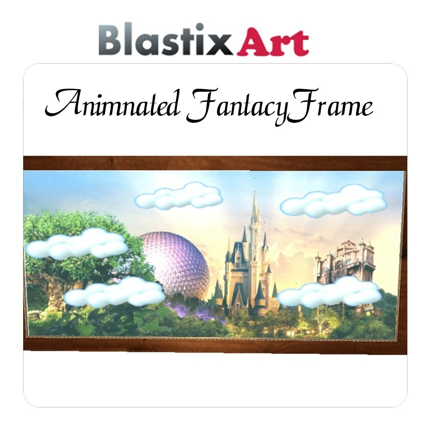 Animated Fantacy Frame