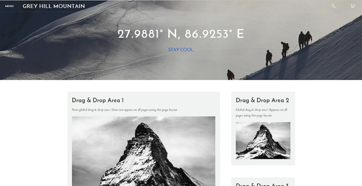 Drap & Drop Sidebar Sections [Responsive]