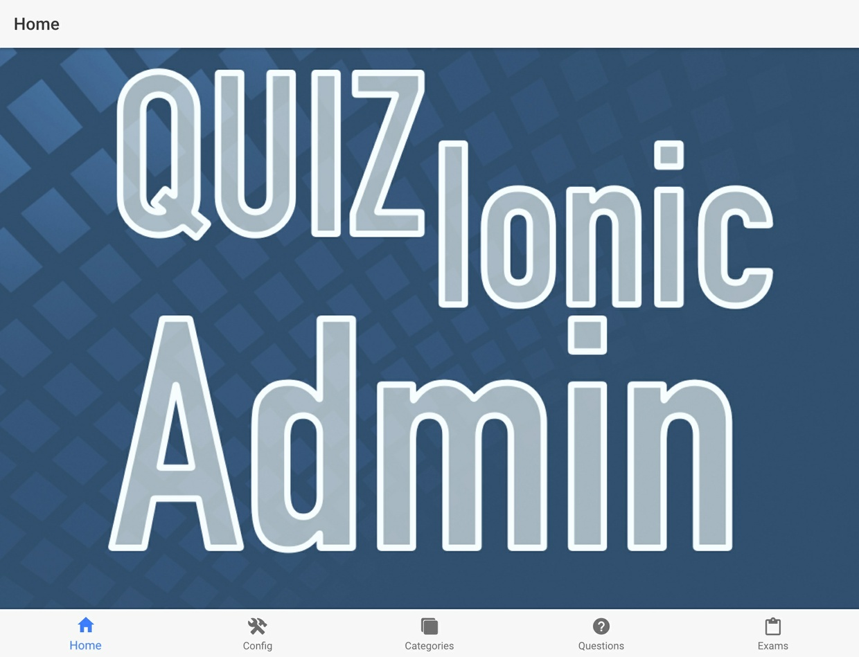 Quizionic Admin Panel for Quizionic 2 and 3 versions