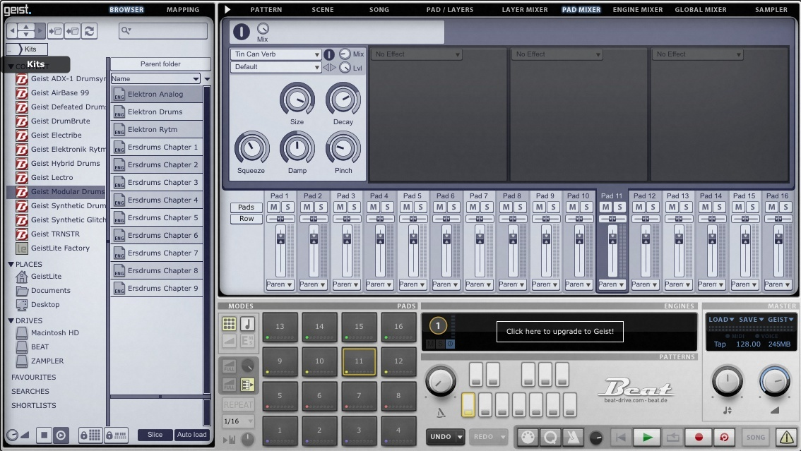 DRUM DEVICES - 12 expansions for Geist Lite (plugin included)