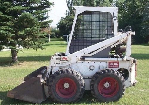 Bobcat 600, 600D, 610, 611 Skid Steer Loader Service Repair Workshop Manual DOWNLOAD