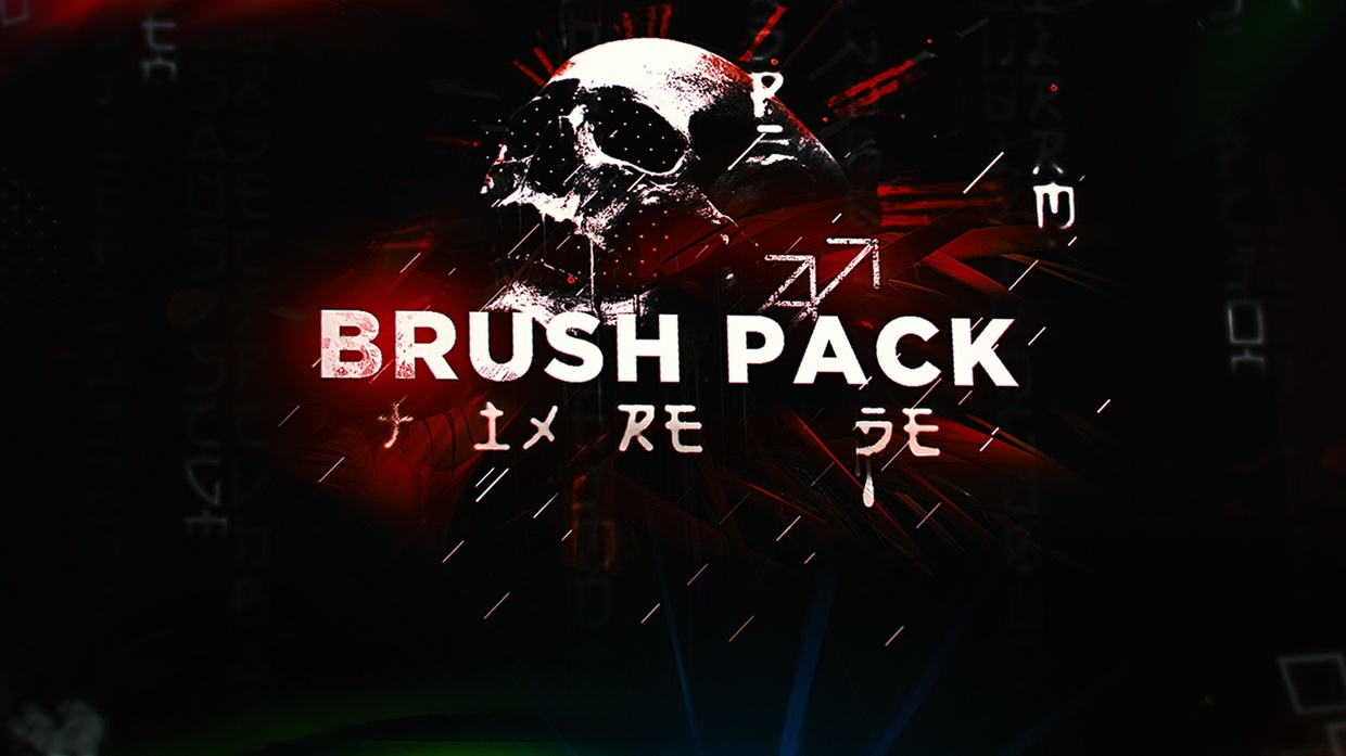 Huge Brush Pack 2017 (PHOTOSHOP) +FREE DOWNLOAD