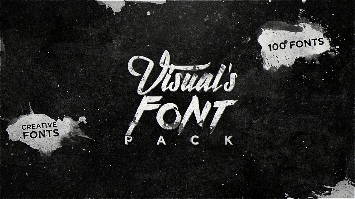 Visual's Personal Font Pack! *FREE Infinity Graphics Pack*