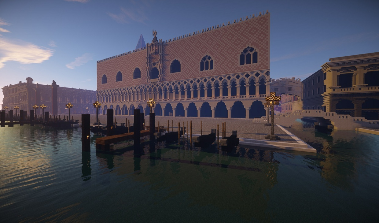 Venice reproduction in minecraft