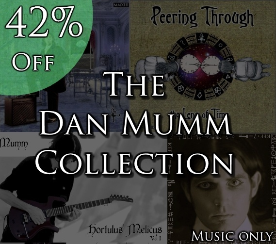 The Dan Mumm Collection - 2 Albums and 2 Eps - 34 Songs *42% Off Sale* (Music Only)