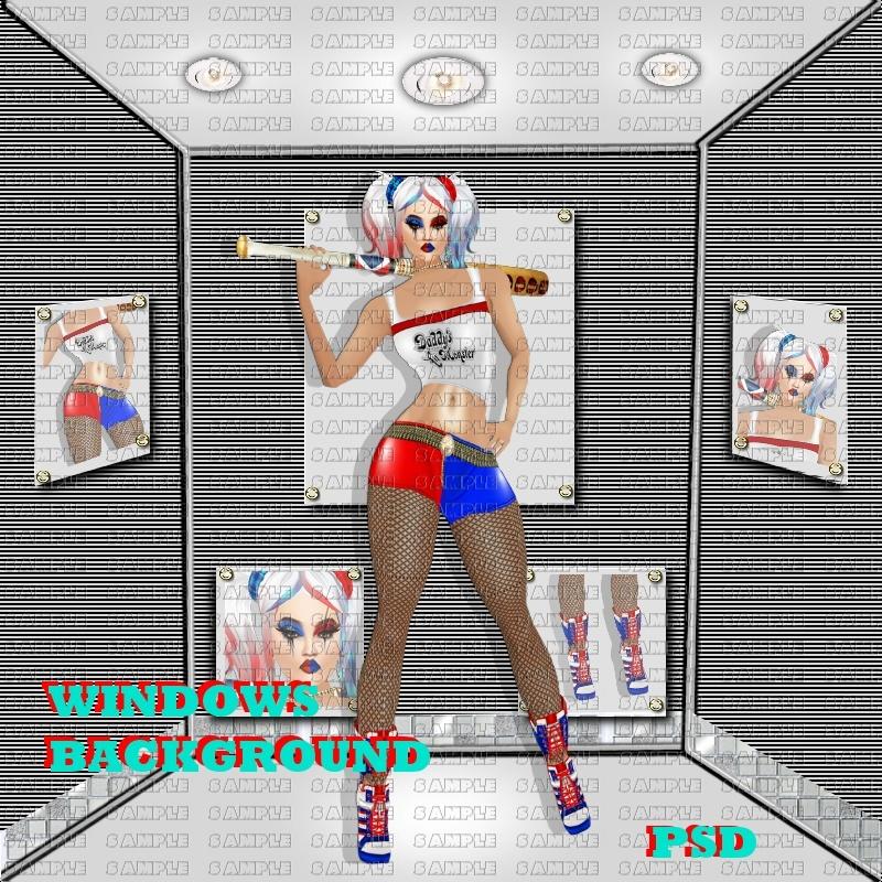 BACKGROUND WINDOWS PSD