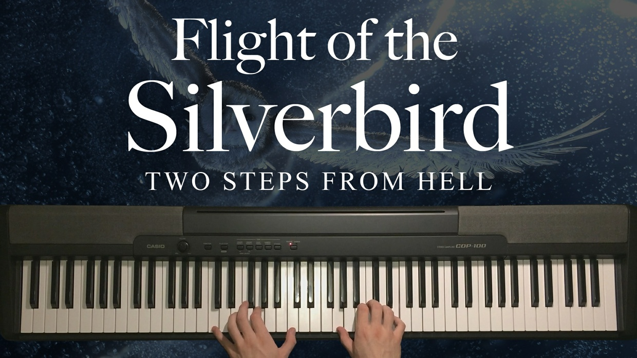 Flight of the Silverbird Piano Sheet Music (Two Steps From Hell)