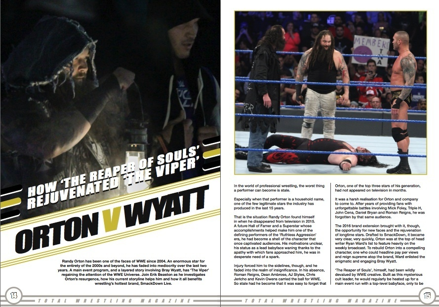 Total Wrestling Magazine March 2017