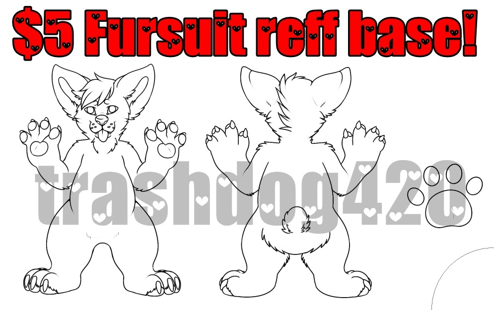 $5 Fursuit Reff Base