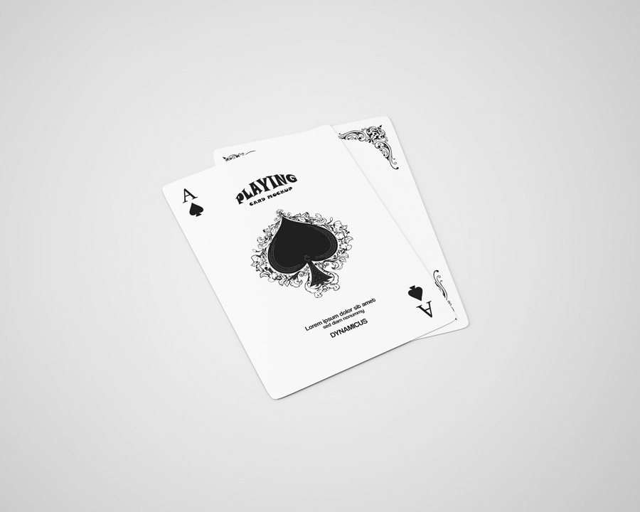 Playing Cards Mock-Ups