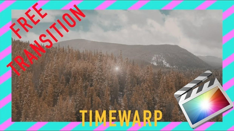 EPIC Timewarp Spin Transition | Final Cut Pro X TUTORIAL