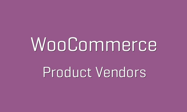 WooCommerce Product Vendors 2.1.3 Extension