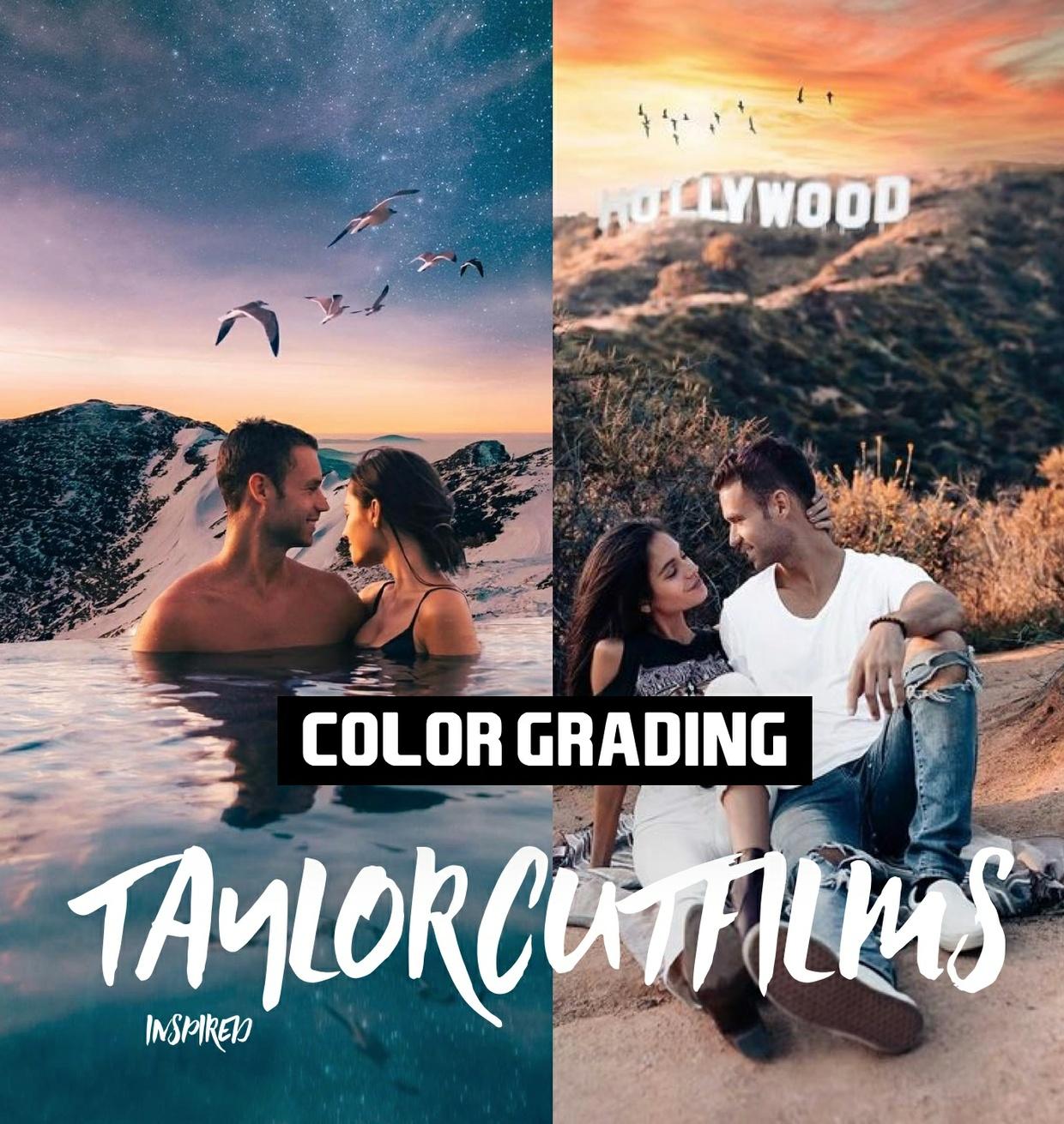 Taylor Cut Films 2018 // Pro Color Grading Lut