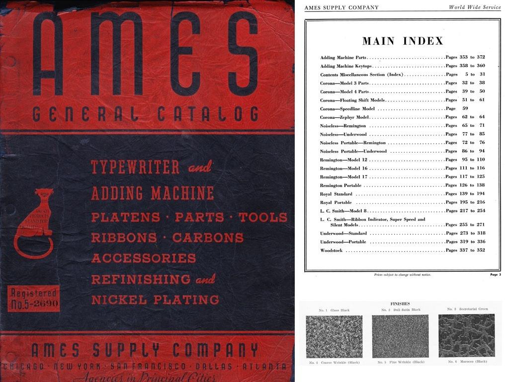 1940  AMES General Catalog No. 5