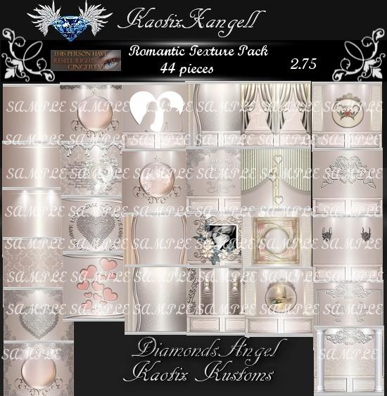 Romantic Texture Pack