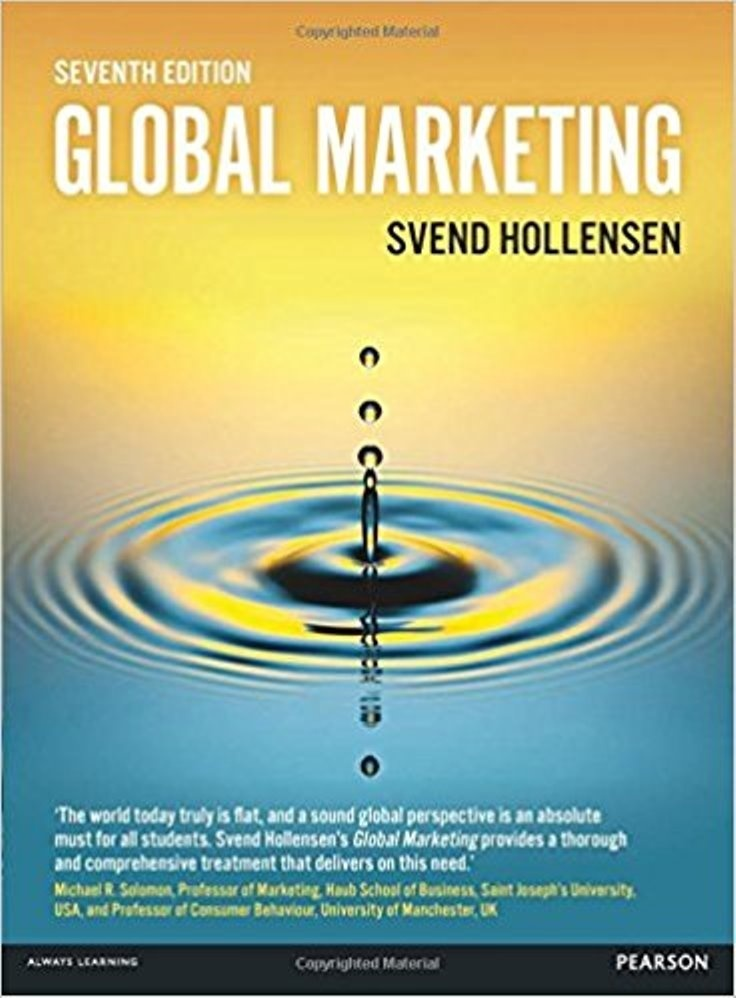 Global Marketing 7th edition by Svend Hollensen ( PDF )