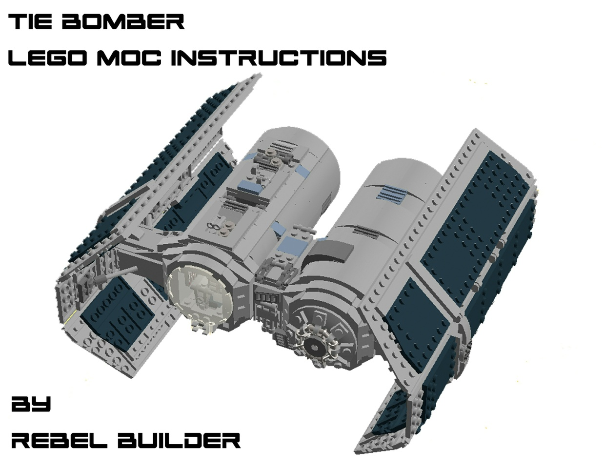 LEGO TIE Bomber MOC Instructions