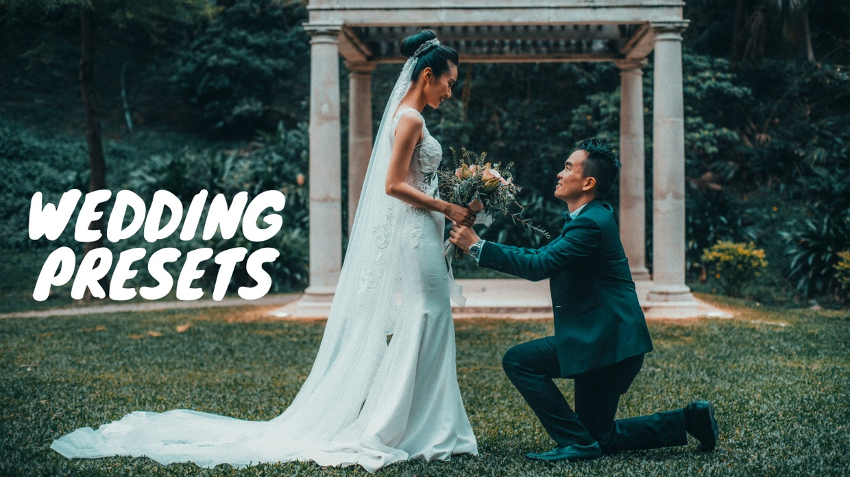 50 Portrait + 15 Wedding + 10 Cinematic LR presets + Teal Orange and Teal Pink + 10 Cinematic Luts