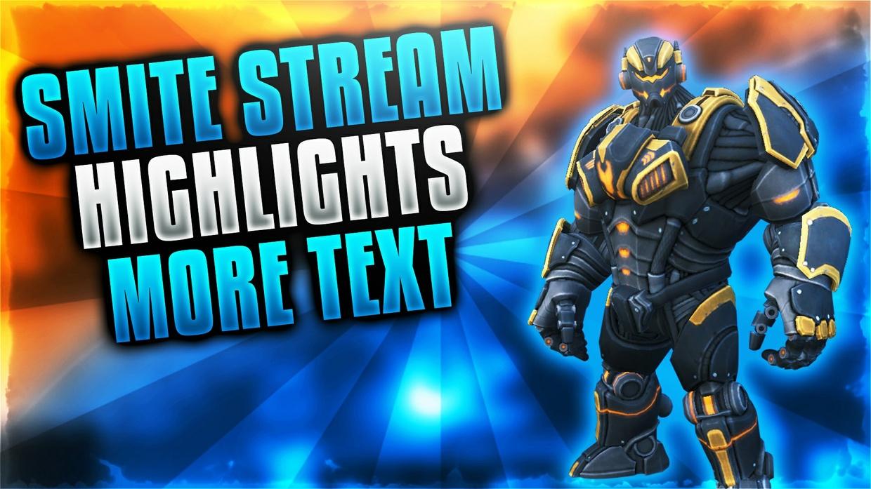 Smite YouTube Thumbnail Template