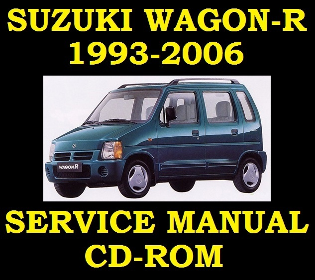 Suzuki WagonR    Wagon      R    Service Workshop Repair Manual W