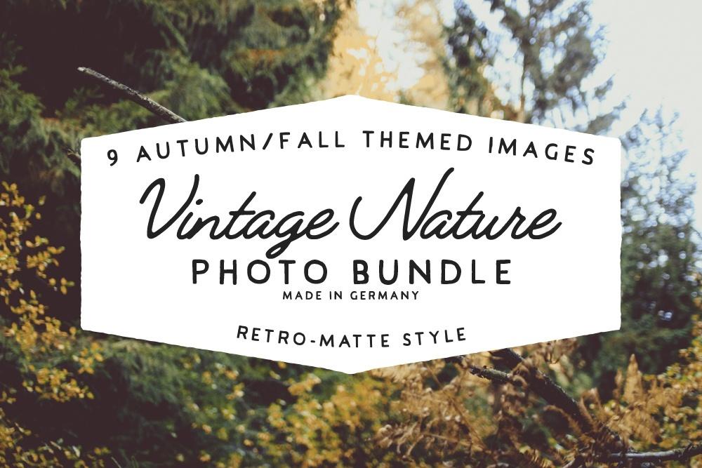 Vintage Nature - Photo Bundle