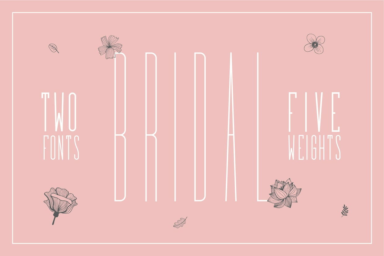 Bridal - Free Font - Personal Use