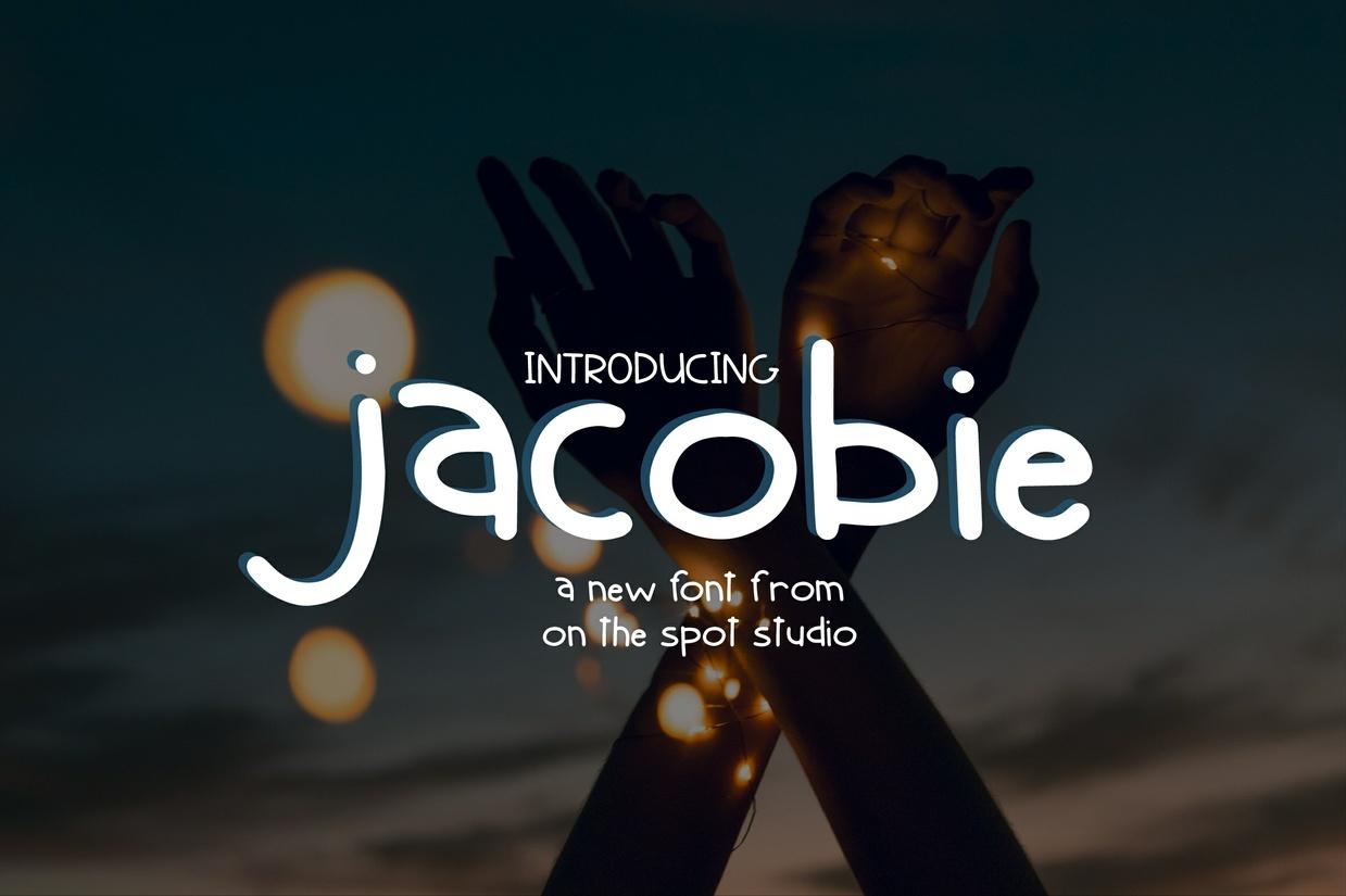 Jacobie -  A Childish Print