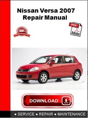 Nissan Versa 2007 Repair Manual