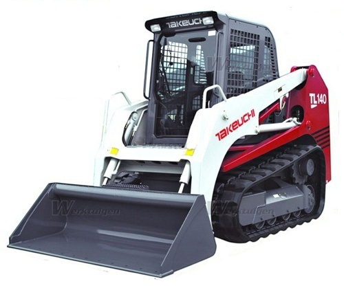 Takeuchi TL140 Crawler Loader Service Repair Workshop Manual Download (S/N: 21400011 & Above)