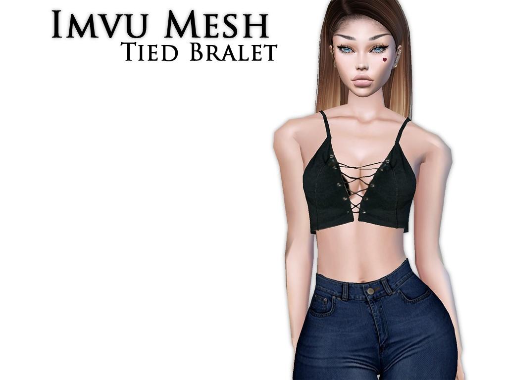 IMVU Mesh - Tops - Tied Bralet